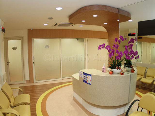 Alpha Fertility Center - Patient Lounge