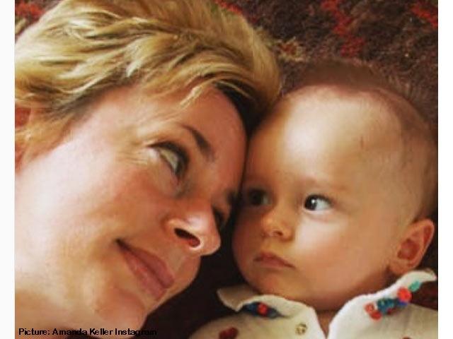 Amanda Keller first born