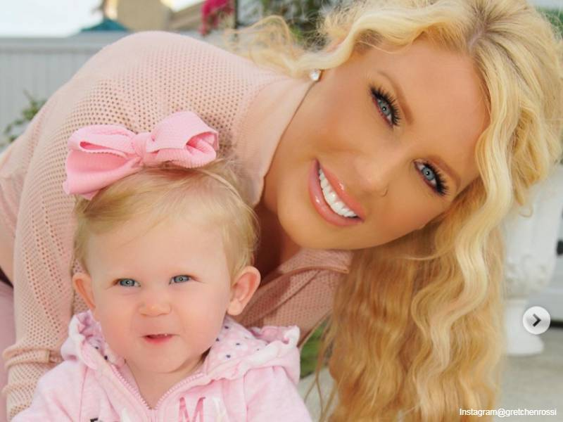 Gretchen Rossi with daughter Skylar Gray