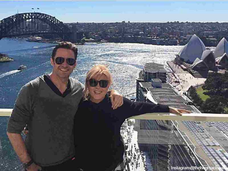 Hugh Jackman and Deborra in Australia
