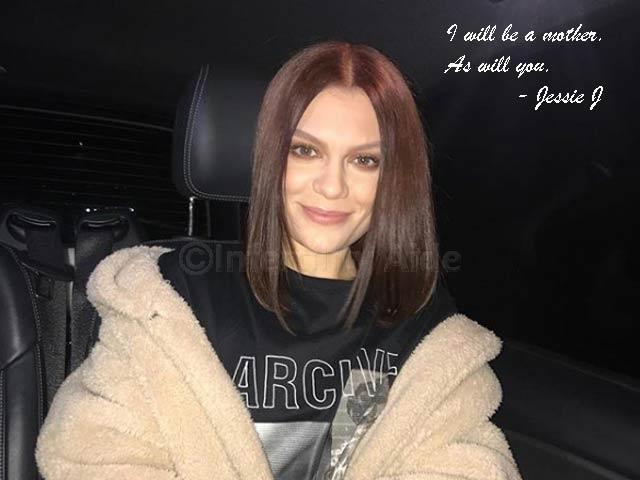Jessie J on infertility