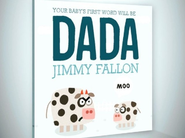 Jimmy Fallon\'s book on being a parent