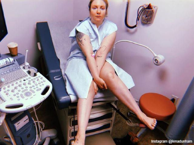 Lena Dunhams IVF story