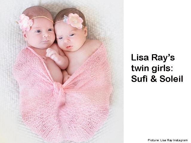 Lisa Ray surrogacy twins