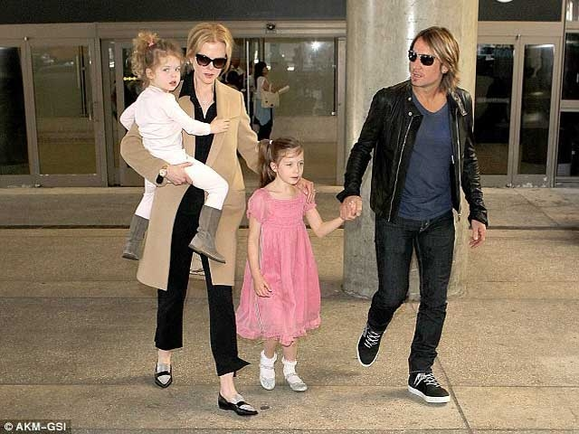 Nicole Kidman's IVF daughter and natural born daughter