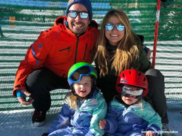 Ski day for Fallon family