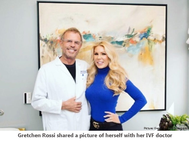 Gretchen Rossi IVF doctor