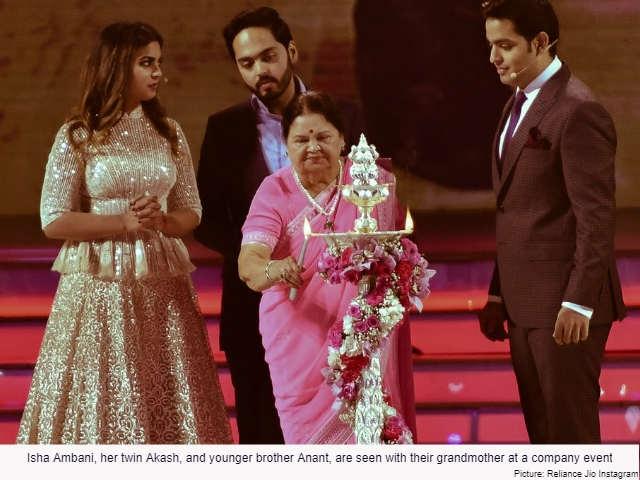 Isha Ambani and her IVF twin Akash