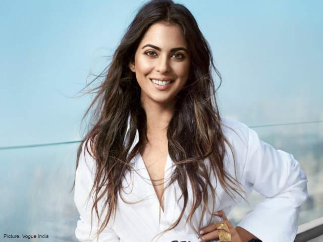 Isha Ambani on Vogue cover