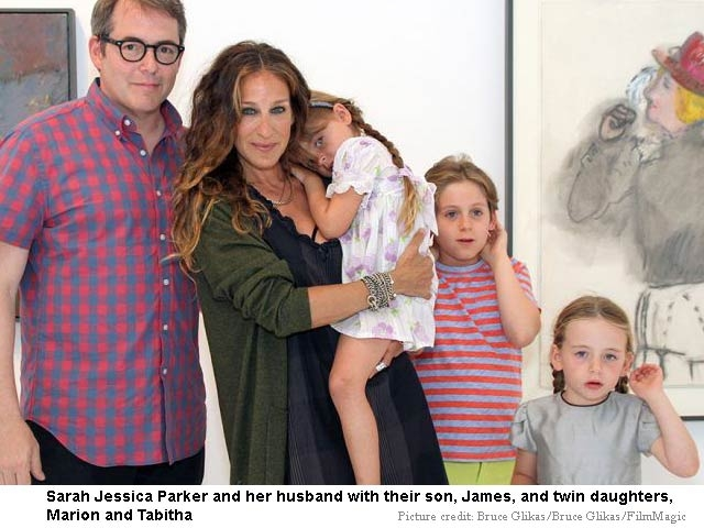 Sarah Jessica Parker IVF girls and naturally born son