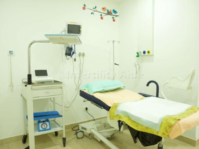 Patient room - Chennai IVF clinic
