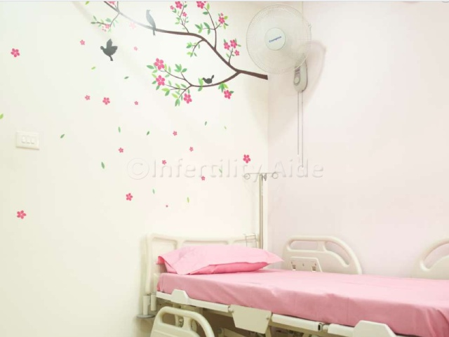 Patient room - IVF clinic Chennai
