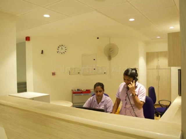 Reception - IVF clinic Chennai