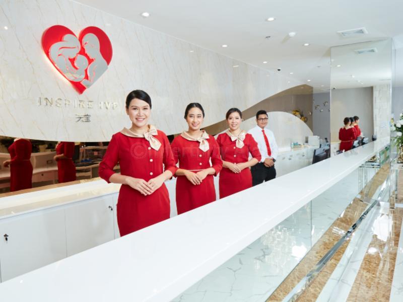 Reception - Inspire IVF - Bangkok, Thailand