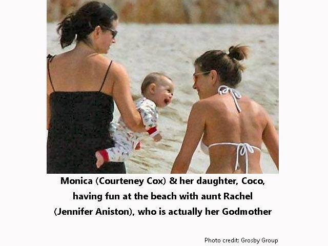 Monica - Rachel and baby
