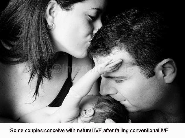 Natural cycle IVF success