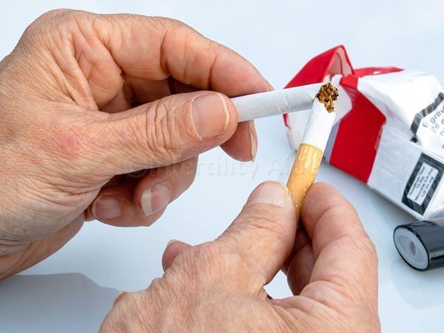 Quite smoking to improve fertility