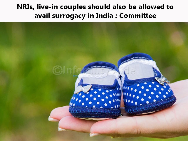 NRIs should be allowed surrogacy in India