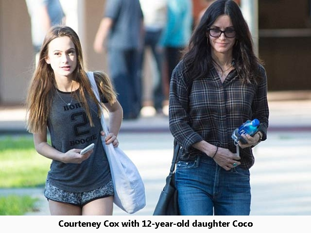 Courteney Cox IVF daughter