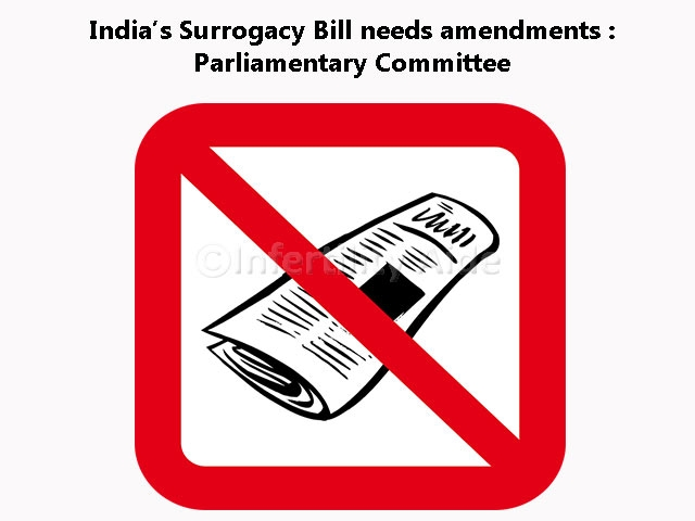 India surrogacy bill - decision