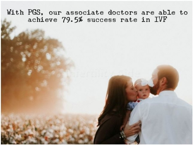 PGS for higher success in IVF