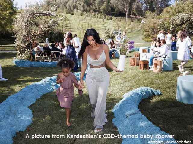 Kim Kardashian baby shower