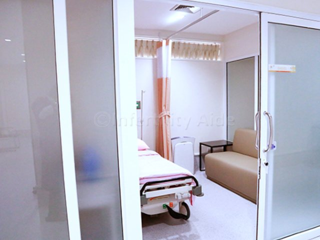 Patient room - Safe Fertility - Bangkok
