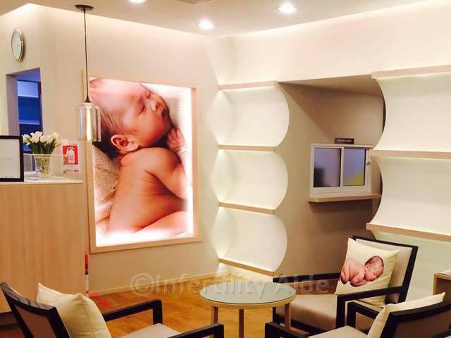 Phuket IVF waiting lounge