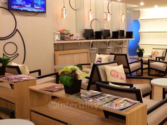 Waiting area IVF Phuket